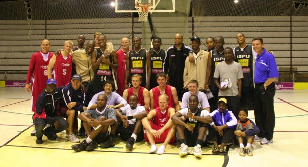 Basketball was the game, but their was an exchange of stories and a touch from Jesus Christ on all of us as a result
