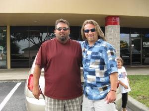 SouthEastern Head Coach Jason Beck and Myself