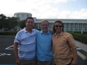 Orlando Training - Scott Mottice, Gilbert Kingsley and Myself