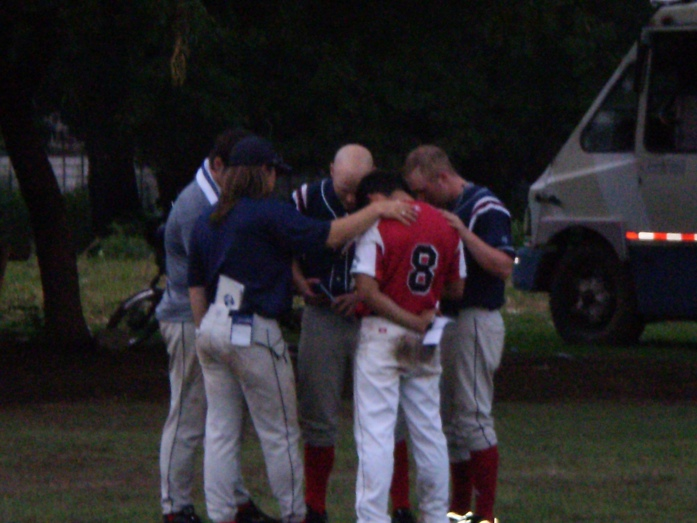Praying for Unica Player, to use athletics to change his teammates for Jesus Christ