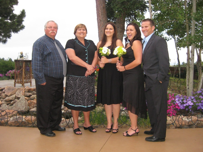 My Family  David, Bonnie, Alysen, Robyn and Taylor